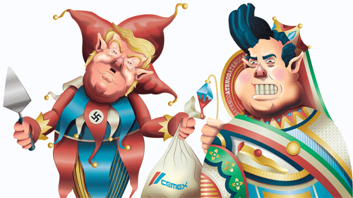 Gasolinazo: Political illustration